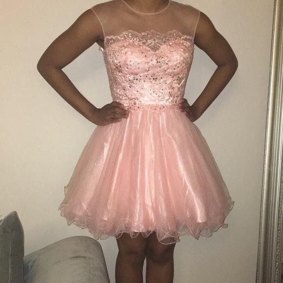 Let\'s Dresses | Peachcoral Prom Dress | Poshmark
